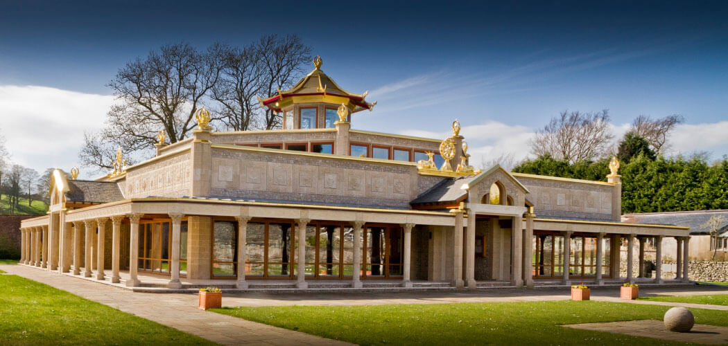 Photo du Centre de Méditation Kadampa Mandjoushri (Angleterre)