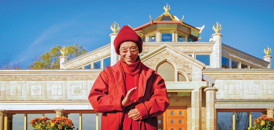 Photo Vénérable Guéshé Kelsang Gyatso
