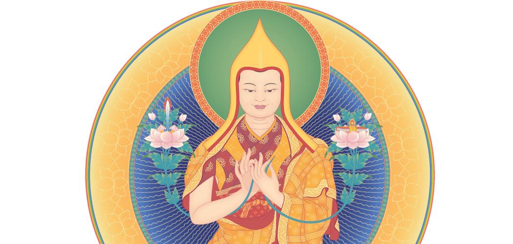 Image de Djé Tsongkhapa