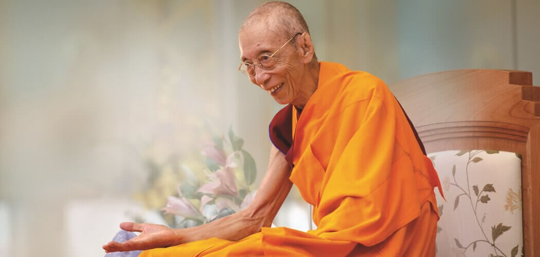 Vénérable Guéshé Kelsang Gyatso Rinpoché